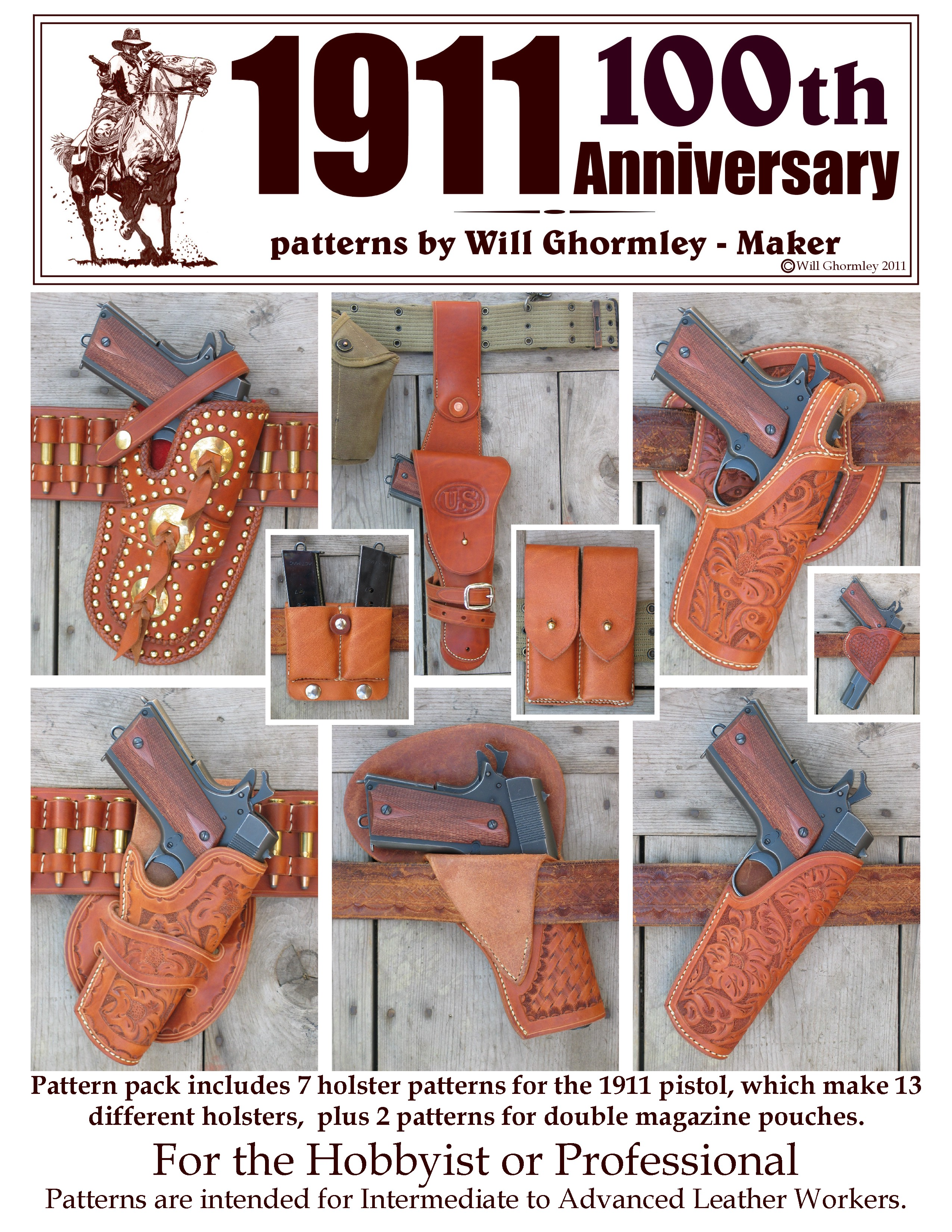 Will Ghormley Maker Old West Collection Patterns